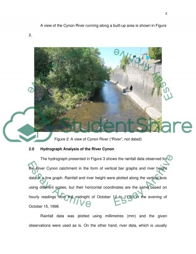 drainage design essay