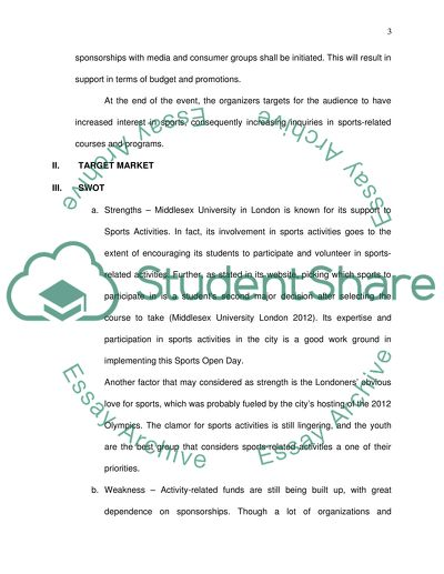 essay about event in school