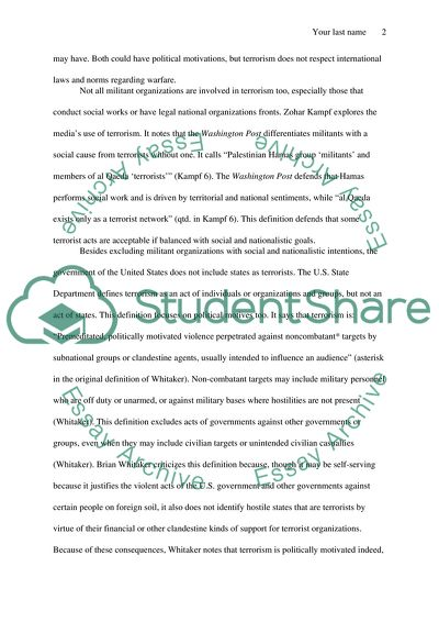 Essay 3 You choose topic
