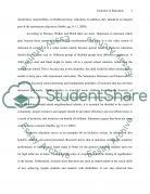 Inclusion in Education Essay example