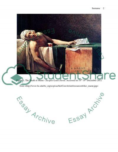 To Compare Jacques-Louis Davids Death of Marat with Caravaggios Entombment