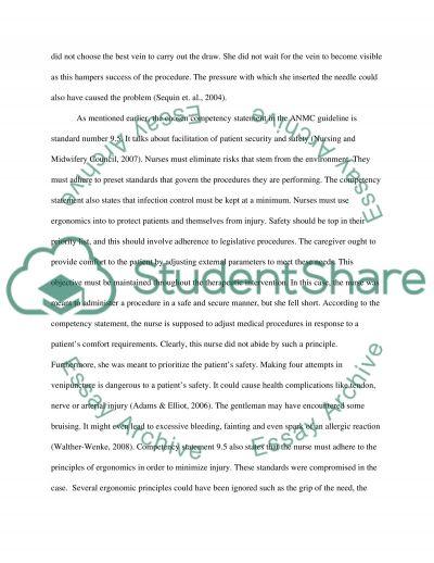 Venipuncture essay example
