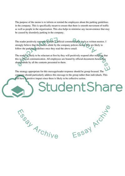 Written Business Communication (Assignment #1A)