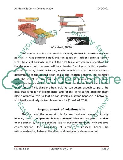 Academic and Design Communication