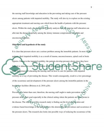 Nursing Research Paper essay example