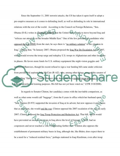 An Election of Monumental Change essay example