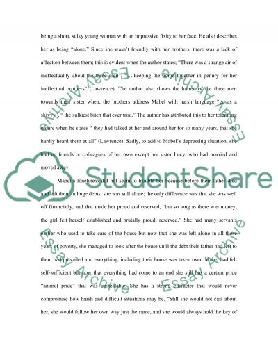 Love is Submission and Sacrifice essay example