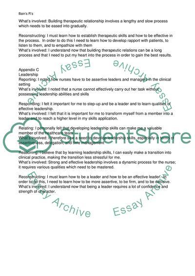 Professional Nursing Development