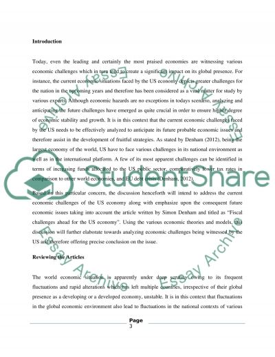 Article Analysis Report (Macroeconomics) Essay Example | Topics ...