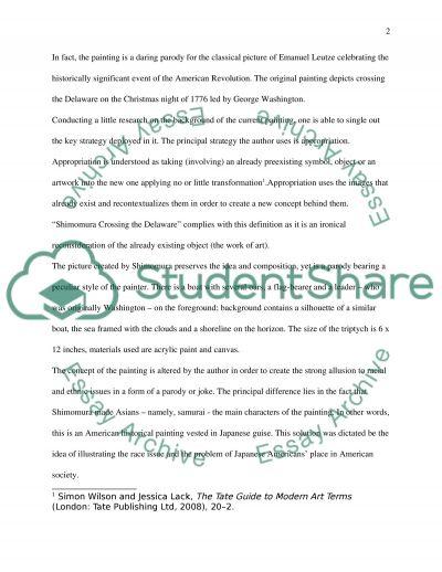 Art writing essay