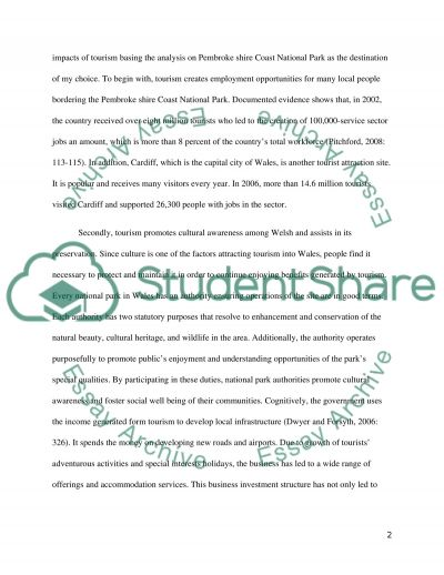 Sustainable tourism practice and planning essay example