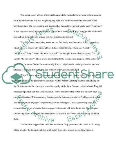Contexual Research Essay