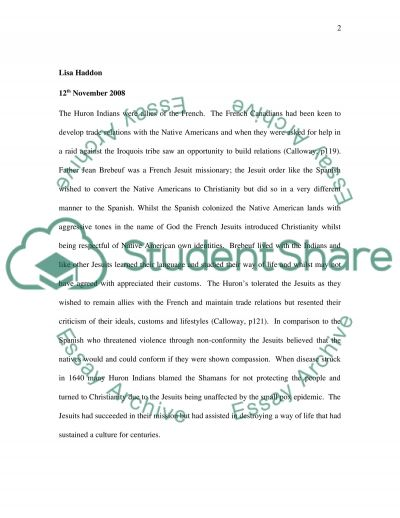American History and Christianity essay example
