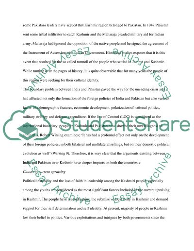 Business Plan Writers Boise Why Is The Kashmir Dispute The Oldest Unresolved International Conflict In  The World Today English Narrative Essay Topics also Help Me Write A Story Why Is The Kashmir Dispute The Oldest Unresolved International Essay Example Essay Papers