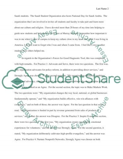 Service Learning Report
