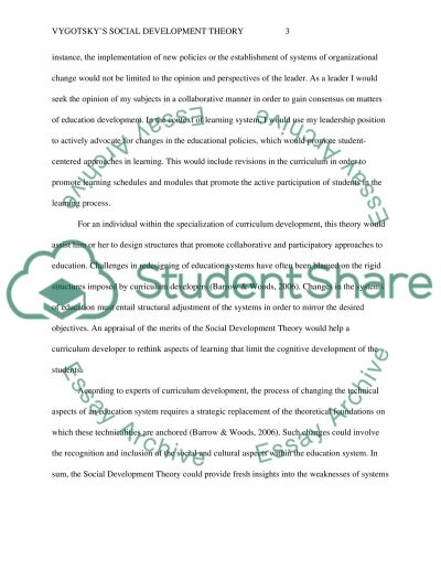 Master in Education Specialty: Educational Philosophy essay example