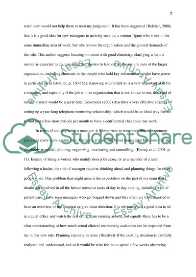 Health care management essay example