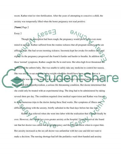 Having a Baby essay example