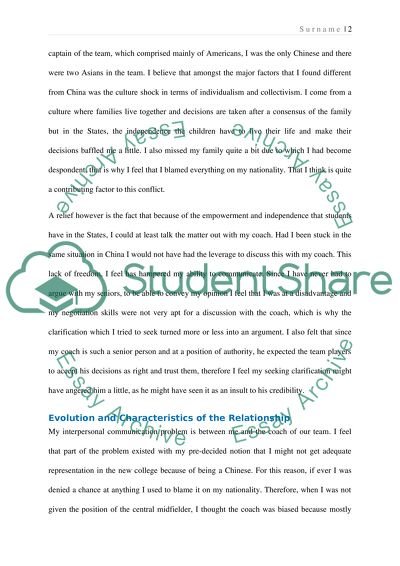 Persuasive Essay Topics For High School Students Interpersonal Communication Essay Thesis Statement Generator also Thesis Statement Argumentative Essay Interpersonal Communication Essay Example  Topics And Well Written  Essays Examples English