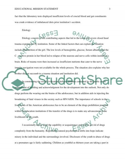 Educational Mission Statement Paper