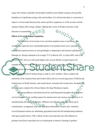 Natural Resources and Energy on The Forest essay example