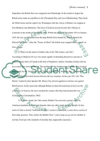History essay example