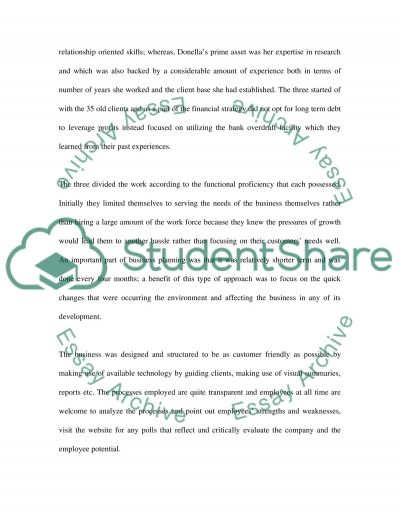 Entrepreneurship essay example