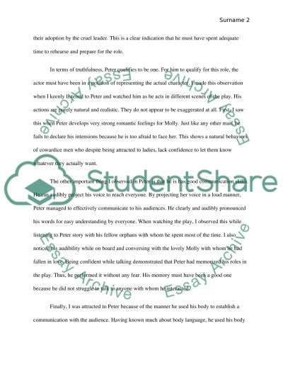 samples of evaluation essays