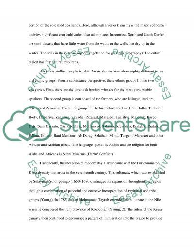 Current Event essay example