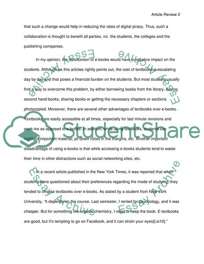Save students money