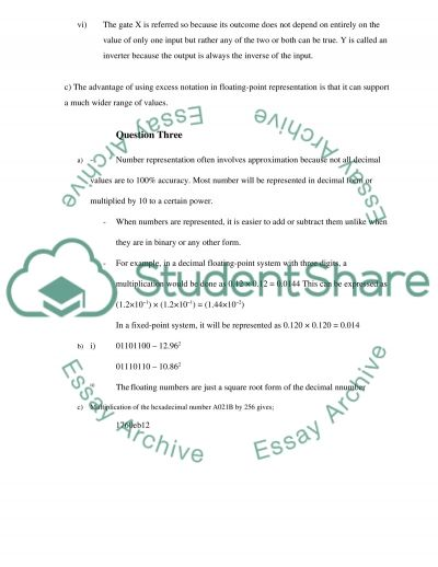 General computing coursework essay example