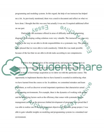 Reflective essay essay example
