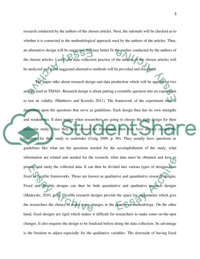 Education - Educational Enquiry essay example