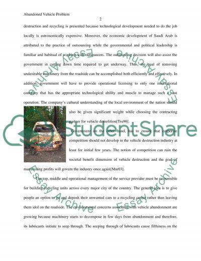 Create a company essay example