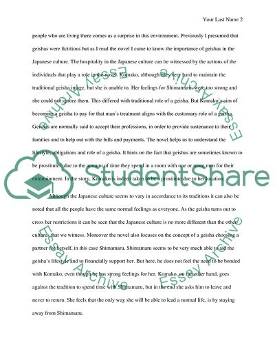 An Insight Into Japanese Culture Essay Example  Topics And Well  An Insight Into Japanese Culture Business Plan Writers In Delhi also Essay Com In English  Thesis Statement For Analytical Essay