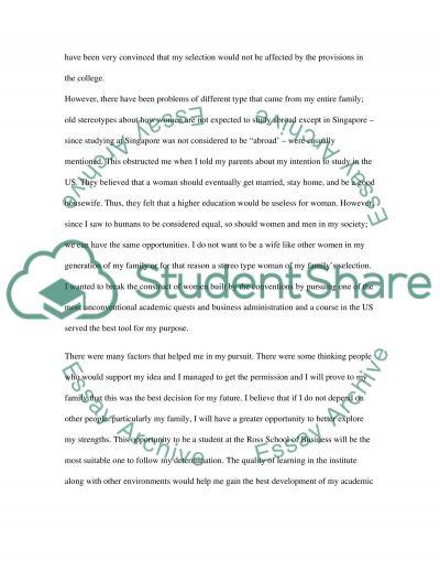 Class Work essay example