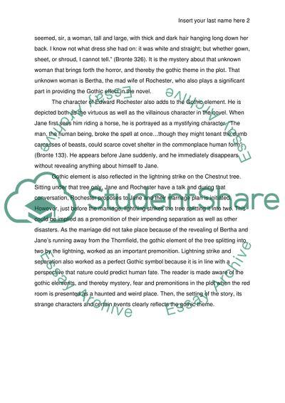 Jane eyre essay topics