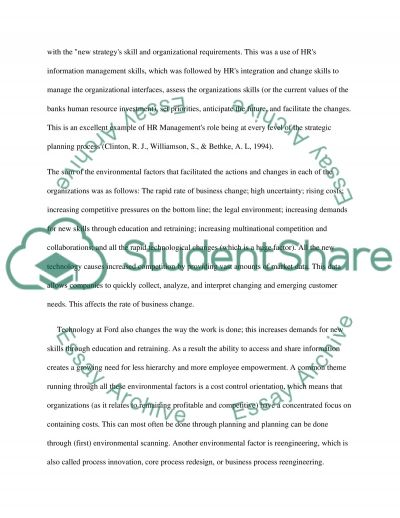 Performance Appraisal--Ford essay example