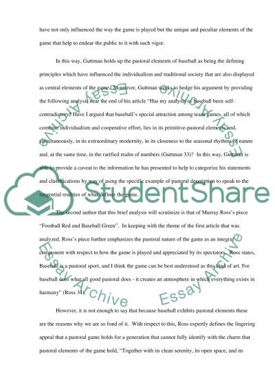 descriptive essay going baseball game Welcome to online essay storage  studentshare database best place to find paid and free essays tired of endless assignments and countless hours of research.