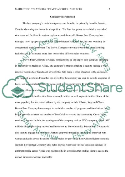Marketing Strategies essay example