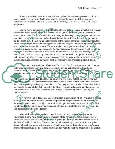 High School Persuasive Essay Examples  Essay On Health Awareness also English Essay Writing Examples Reflective Essay On Health Care Management Example  Topics  Essay Of Newspaper