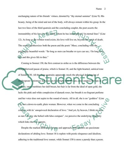 English Essay My Best Friend Read Textpreview Examples Of A Proposal Essay also Health Essays Sonnet Analyze Essay Example  Topics And Well Written Essays    Business Management Essays