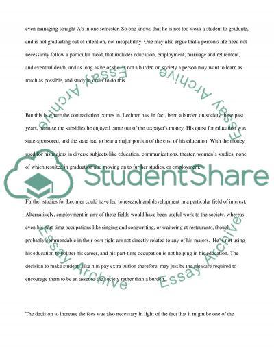 Johnny Lechner essay example