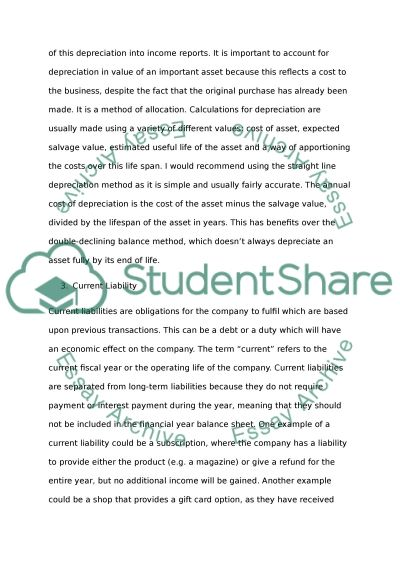 Working capital essay example