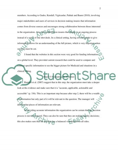 Decision Making Case Study essay example