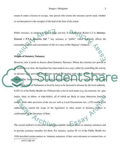 Essay On Health And Fitness Nuisance Case Law Persuasive Essay Topics High School also Essays About Health Care Nuisance Case Law Essay Example  Topics And Well Written Essays  Examples Of English Essays