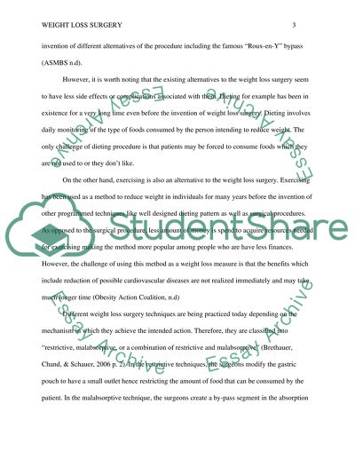 essay how to lose weight