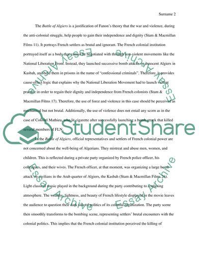 Critical Response Paper 1
