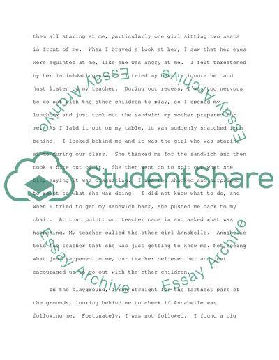 Experience essay topics