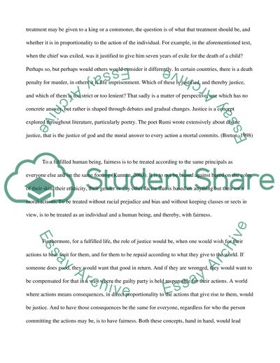 What Is Justice Essay Example  Topics And Well Written Essays  What Is Justice Reflection Paper Essay also Model English Essays  Written Essay Papers